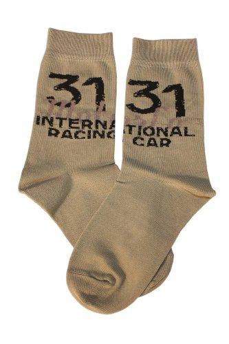 Weri Spezials Kinder Socken, 31 internetion Motiv in Sand, Hochwertige merc. Baumwolle, Gr.31-34 (7-8 Jahre)