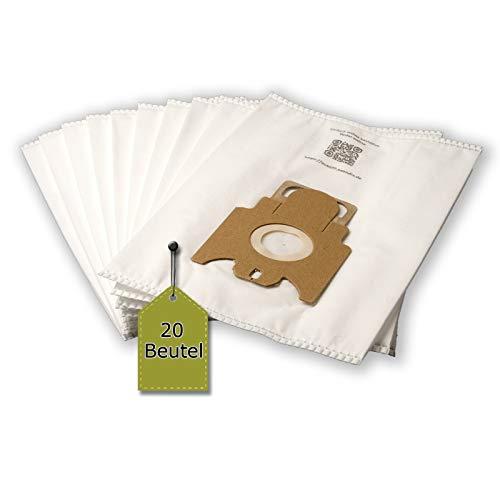 eVendix Staubsaugerbeutel passend für Miele Complete C2 Tango Ecoline, 20 Staubbeutel + 2 Mikro-Filter ähnlich wie Original Miele Staubsaugerbeutel Typ GN