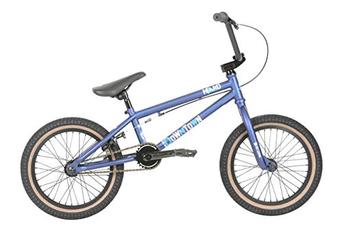 "HARO Downtown 16"" 2019 BMX Freestyle (16.4"" - Matte Blue)"