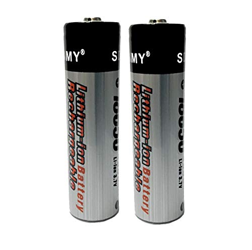 18650 Rechargeable Batteries 3.7V | USB Dual Charger for Rechargeable Batteries 18650 18350 17670...