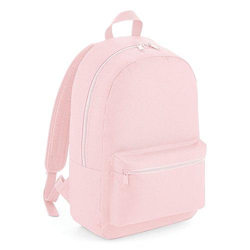 Bagbase Essential Tonal Backpack/Rucksack Bag (One Size) (Powder Pink)