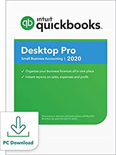 QuickBooks Desktop Pro 2020 Accounting Software for Small Business with Shortcut Guide [PC Download] (B07WHMWD4W) | Amazon price tracker / tracking, Amazon price history charts, Amazon price watches, Amazon price drop alerts