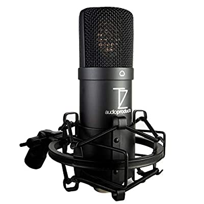 Stellar X2 Large Capsule Condenser Microphone - Cosmic Black Edition from TechZone Audio Products