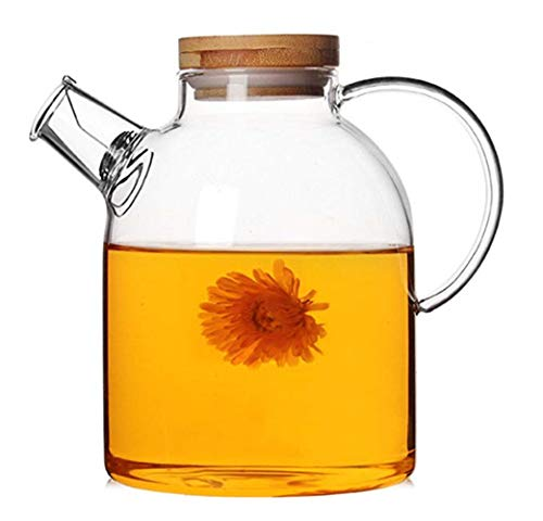 Emoyi Glass Kettle And Pitcher - Heat Resistant And Stove Top Safe!