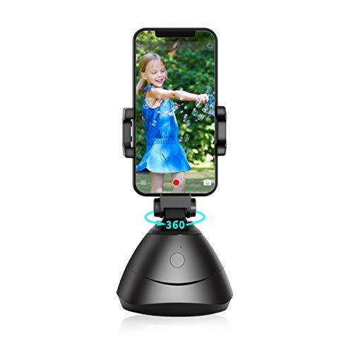 UEB 360 ° drehbar Automatische Gesichtsverfolgung Objektverfolgung Kamerahalterung Handyhalter Handy Stativ Halterung Smartphone Kamera Verfolgen Selfie Stick