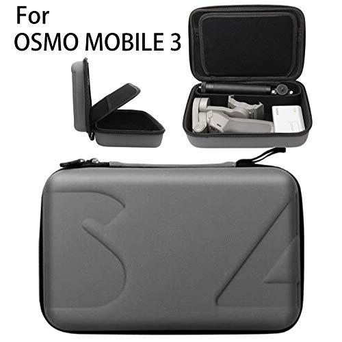 DJI Osmo Mobile 3 専用収納ケース LATE Osmo Mobile 3 ケース PU+EVA素材 収納バッグ 軽量 衝撃 防塵 防水 防湿設計 保護ケース キャリングケース スピーカー専用保護ケース 旅行やストレージに最適