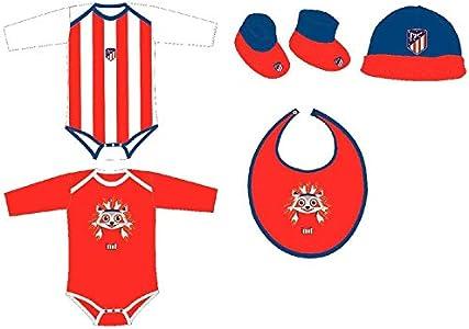 ATM ENTERPRISESSet regalo bebe Atletico Madrid Talla única. 100% algodón.