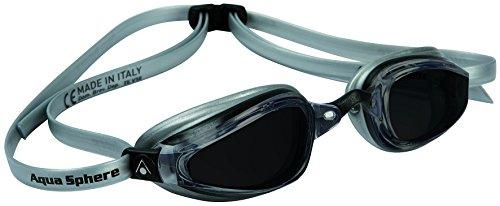 MP Michael Phelps K180+ Goggle Smoke Lens Black/Silver