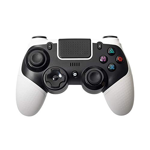 QUMOX Gamepad - Mando inalámbrico Bluetooth de 6 ejes Turbo para conmutador PS4 PC Android