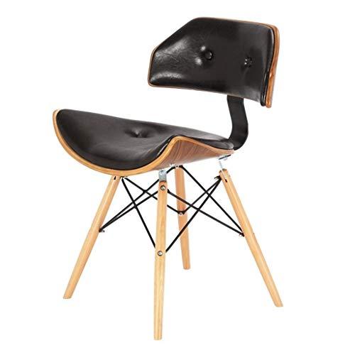 Living Equipment Comedor Fundas para sillas Silla de escritorio Silla para computadora Inicio Silla de oficina de madera maciza Silla giratoria Respaldo Silla de estudio para estudiantes Peso 130 k
