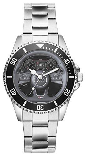 Regalo para Audi S4 Fan Conductor Kiesenberg Reloj 10023
