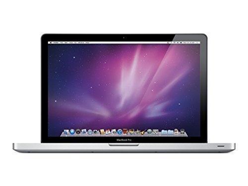 Apple MacBook Pro MC721LL/A 15.4-Inch Laptop (500 GB HDD, 2 GHz i7 Quad Core Processor, 4 GB SDRAM) (Refurbished)