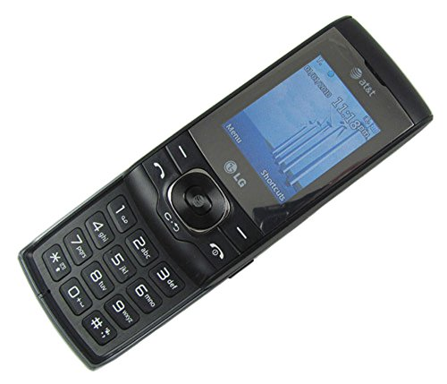 LG GU295 Slider Cell Phone (AT&T) Black No Contract