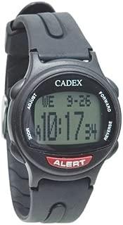 CADEX 12 Alarm Medication Reminder Watch - Black