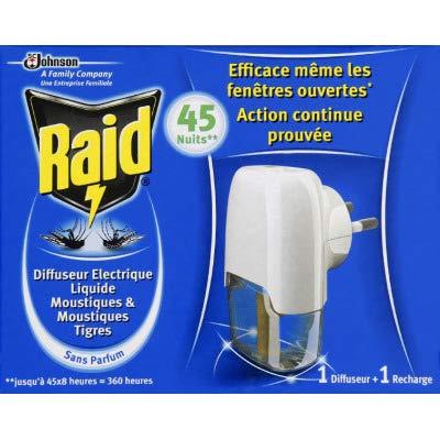 Raid Diffuseur électrique anti-moustiques liquide - Le diffu