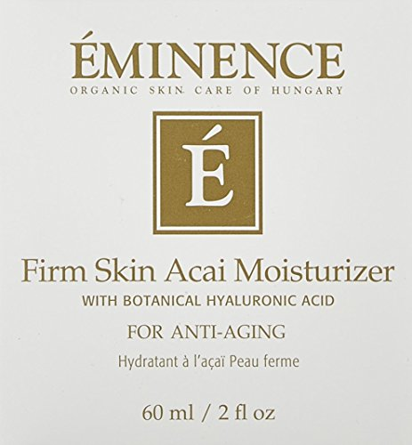 Eminence Organic Skincare Firm Skin Acai Moisturizer with Hyaluronic Acid, 2 Fluid Ounce (2254/Em)