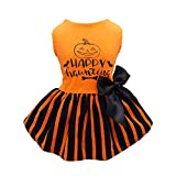 Fitwarm Halloween Dog Dresses Puppy Party Costumes...