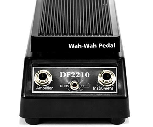 Negro WAH-WAH Pedal de efectos de guitarra eléctrica Instrumentos musicales