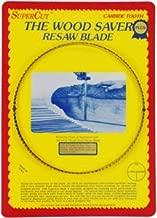 SuperCut B123P58V3 WoodSaver Plus Resaw Bandsaw Blade, 123