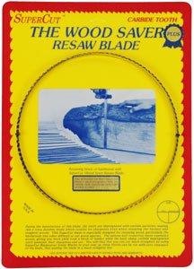 SuperCut B133P58V3 WoodSaver Plus Resaw Bandsaw Blade, 133  Long - 5 8  Width, 3-4 Variable Tooth