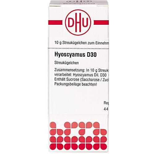 DHU Hyoscyamus D30 Streukügelchen, 10 g Globuli