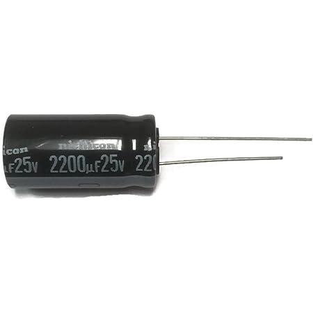 10PCS Electrolytic Capacitors 25V 2200uF Volume 13x21mm 2200uF 25V ck