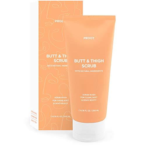 Butt & Thigh Scrub Wash | Exfoliating Booty Scrub for Acne, Cellulite,...