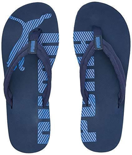 PUMA Epic Flip V2, Scarpe da Spiaggia e Piscina Unisex-Adulto, Blu (Dark Denim/Palace Blue), 39 EU