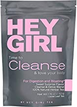 Detox Tea - Cleanse Herbal Tea Reduces Bloating & Helps Your Body Stay Regular - Keep Your Colon Happy and You Feeling Healthy with Hey Girl Tea
