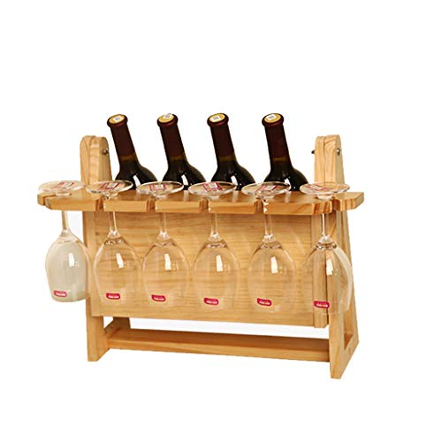 Soporte organizador de botelleros Creativo estante del vino en casa titular de la copa de vino rojo al revés copa estante estante del vino europeo estante del vino adornos decorativos Estantes de exhi
