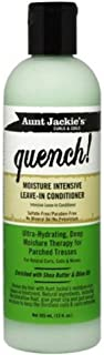 Aunt Jackie'S Curls & Coils Quench! Moisture Intensive Leave-in Conditioner, 12 Oz (Pack of 3)