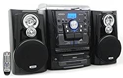 in budget affordable Jensen All-in-One HiFi Stereo CD Player CD Player and Cassette with Digital Radio AM / FM Tuner…