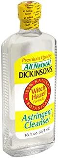 Dickinson's Astringent Cleanser, Witch Hazel Formula, 16-Ounce Bottles (Pack of 6)