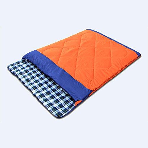 Miao Couple Sacs de couchage, extérieur, 2 personnes Camping 2700 G, orange