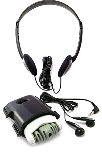 SuperEar Plus Sonic Ear Personal Sound Amplifier with Case, Headphones and Discreet Earbuds PSAP facilitates CMS MDS/ADA/ACA Section 1557 Auxiliary Aid Compliance