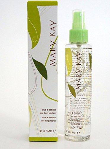 Lotus & Bamboo Deo Body Spritzer Körperspray mit Blauer-Lotus- und Passionsblumen-Extrakte 147 ml MHD 2023/24
