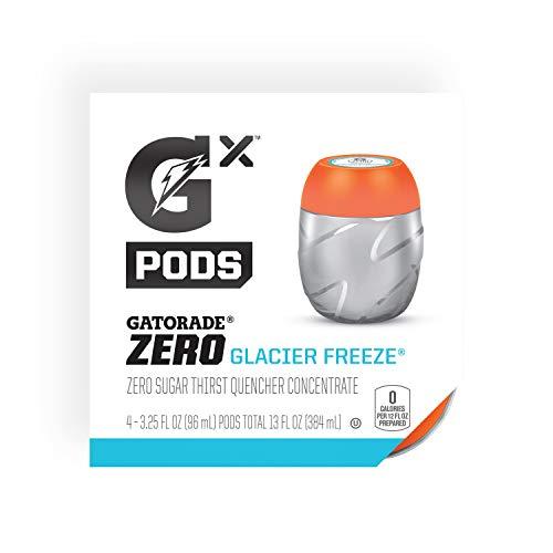 Gatorade G Zero GX Pods, Glacier Freeze, 3.25oz Pods (16 Pack)