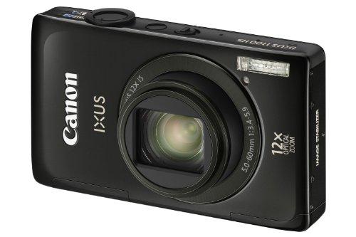 Canon IXUS 1100 HS Digitalkamera (12 MP, 12-fach opt. Zoom, 8,1cm (3,2 Zoll) Bildschirm, bildstabilisiert) schwarz