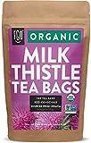 Organic Milk Thistle Tea Bags | 100 Tea Bags | Eco-Conscious Tea Bags...