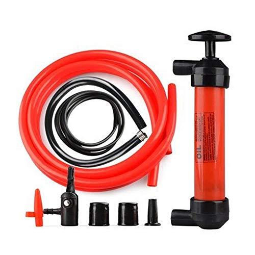 QUUY Manuelle Ölpumpe Kunststoff Öl- Und Flüssigkeitsabsaugung Auto-Siphon-Schlauch Gas-Kraftstoff-Schlauch Aufblasbares Pumpwerkzeug des Transfer-Absaugers