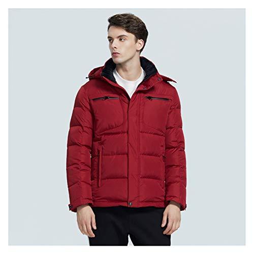 TBAO Winter Neue Lässige Mode Herren Baumwolle Gepolstert Jacke Warme Und Winddichte Herrenjacke (Color : M303, Size : 54)