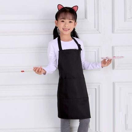 ZXL keuken versie Koreaanse kleur en panty voor kinderen schattige kunst kleuterschool babykleding (kleur: roze)