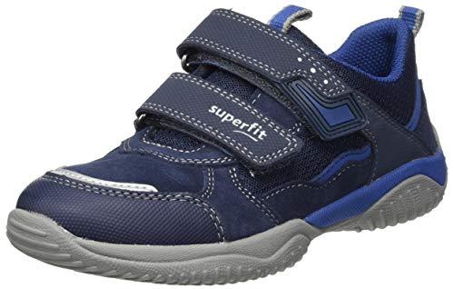 Superfit Jungen STORM Sneaker, Blau (BLAU/BLAU 8000), 36 EU
