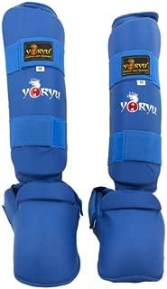 YORYU Paratibia a Calza Bianco Judo Karate Kick Boxing