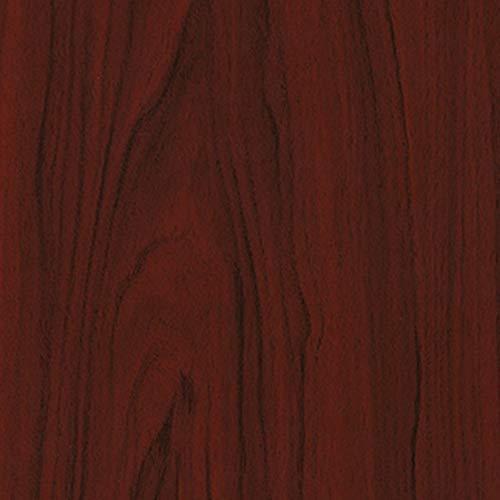 7,08€/m² Tür-folie d-c-fix Holzfolie Mahagoni dunkel 210cm x 90cm Ideale Türfolie selbstklebende Klebefolie Folie Holz Dekor Möbelfolie