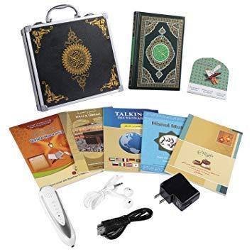 Livre coran avec stylo lecteur mot à mot Tafsir, Sahih Bukhari, Sahih Muslim Stylo Lecteur numérique de Coran avec traduction Dictionnaire parlant
