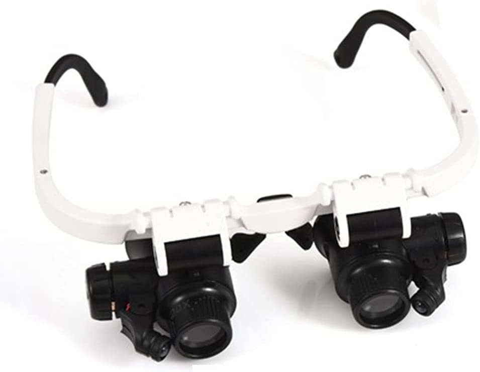 Loupe Magnifier Head Mount LED Magnifying SALENEW very popular! Sale Special Price Illuminated