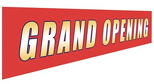 Grand Opening Banner | Large Store Advertising Sign | Business Restaurant Shop Flag