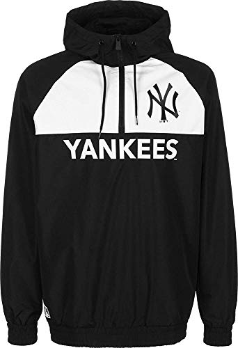 New Era Windbreaker New York Yankees - schwarz