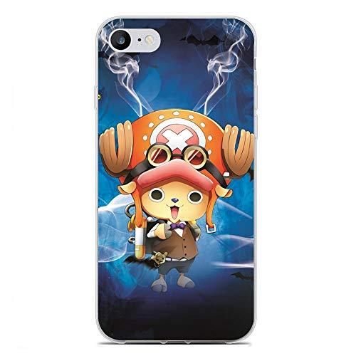 BEPOWER Funda Apple iPhone 6/6s Plus,Funda TPU Gel Transparente Suave Ultra Fina Protecci¨n para Apple iPhone 6/6s Plus-One Piece 16